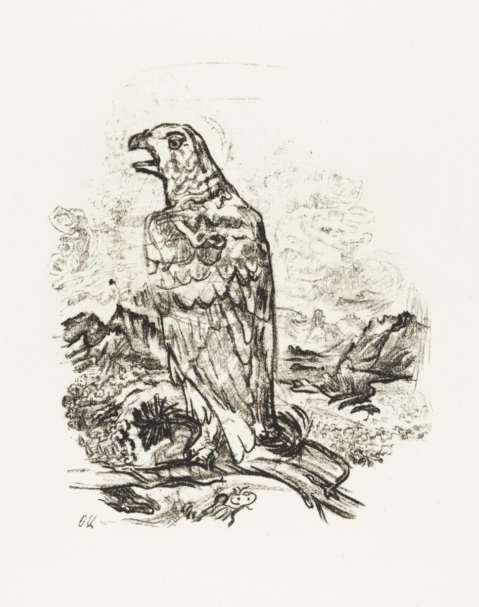 Оскар Кокошка. Орел
