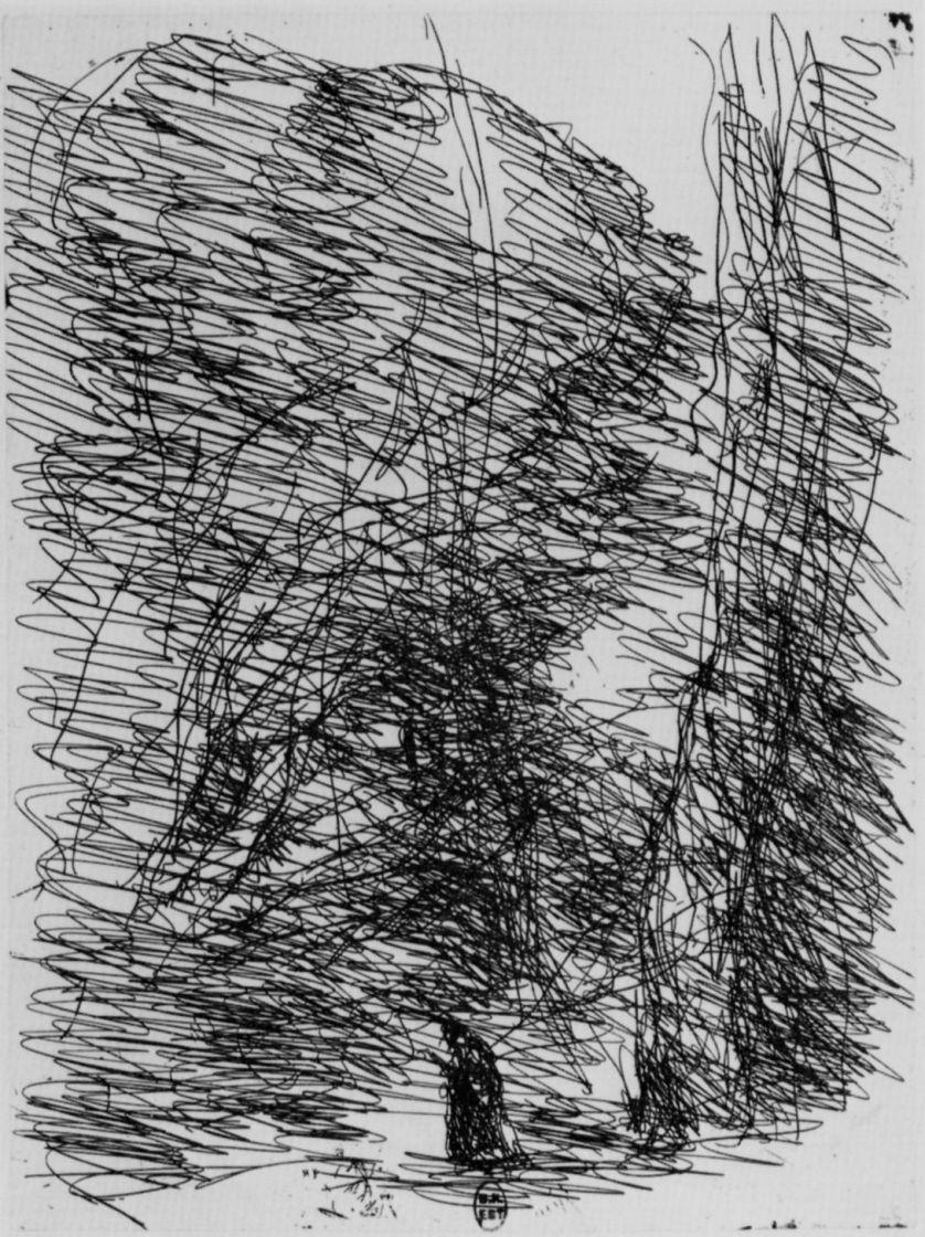 Камиль Коро. Мечтатель под большими деревьями