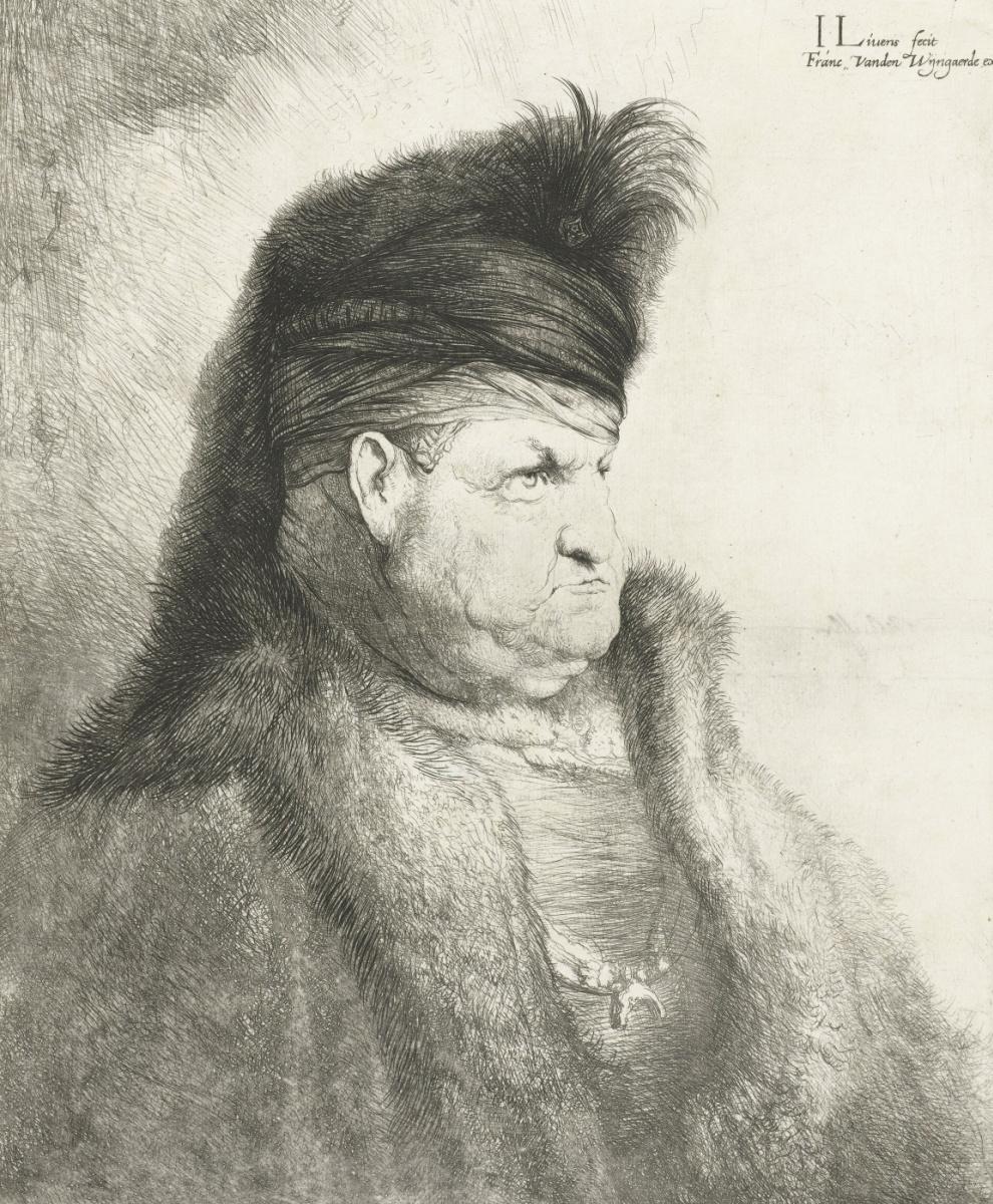 Ян Ливенс. Господин с Востока в меховой шапке