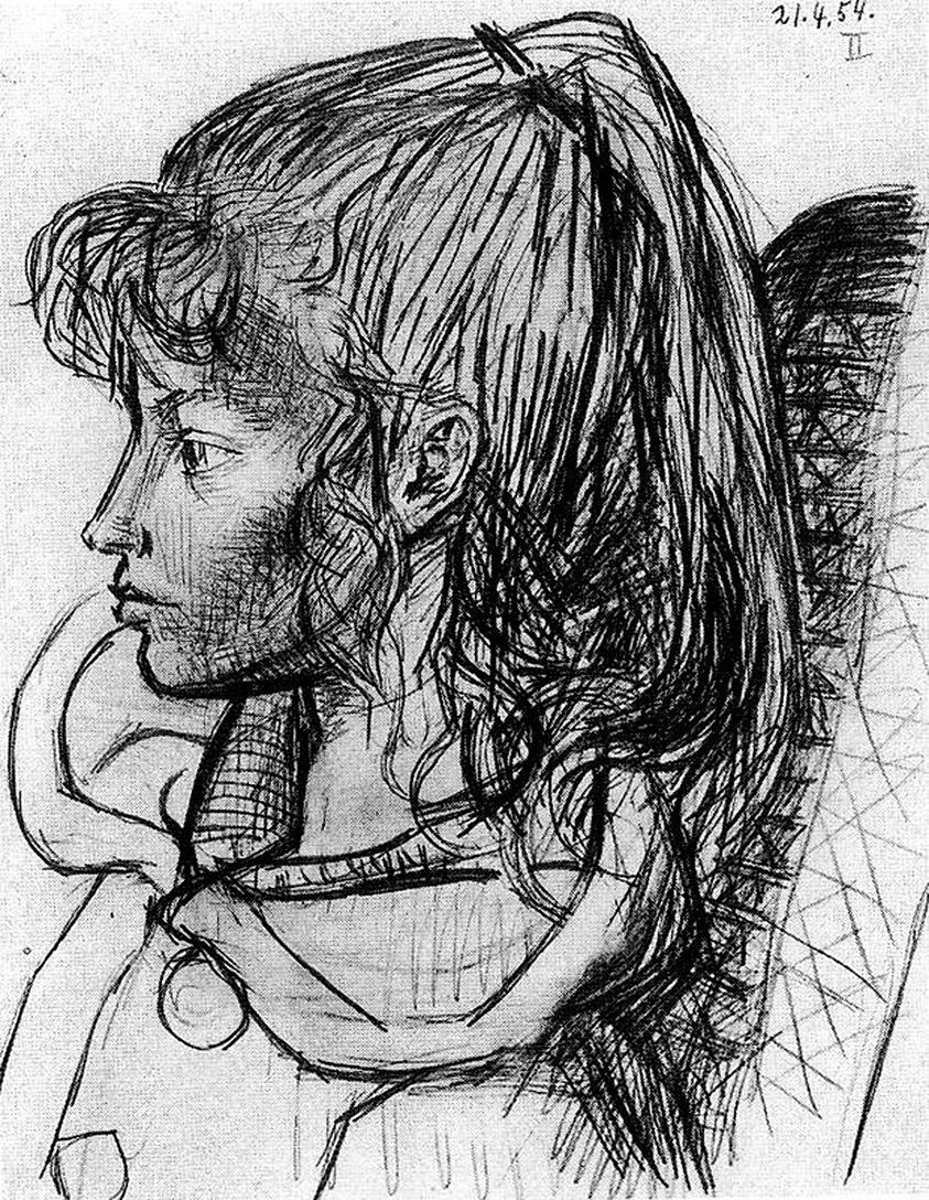 Пабло Пикассо. Портрет Сильветт Давид