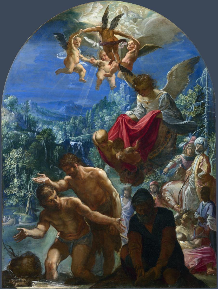 Адам Эльсхаймер. Крещение Христа