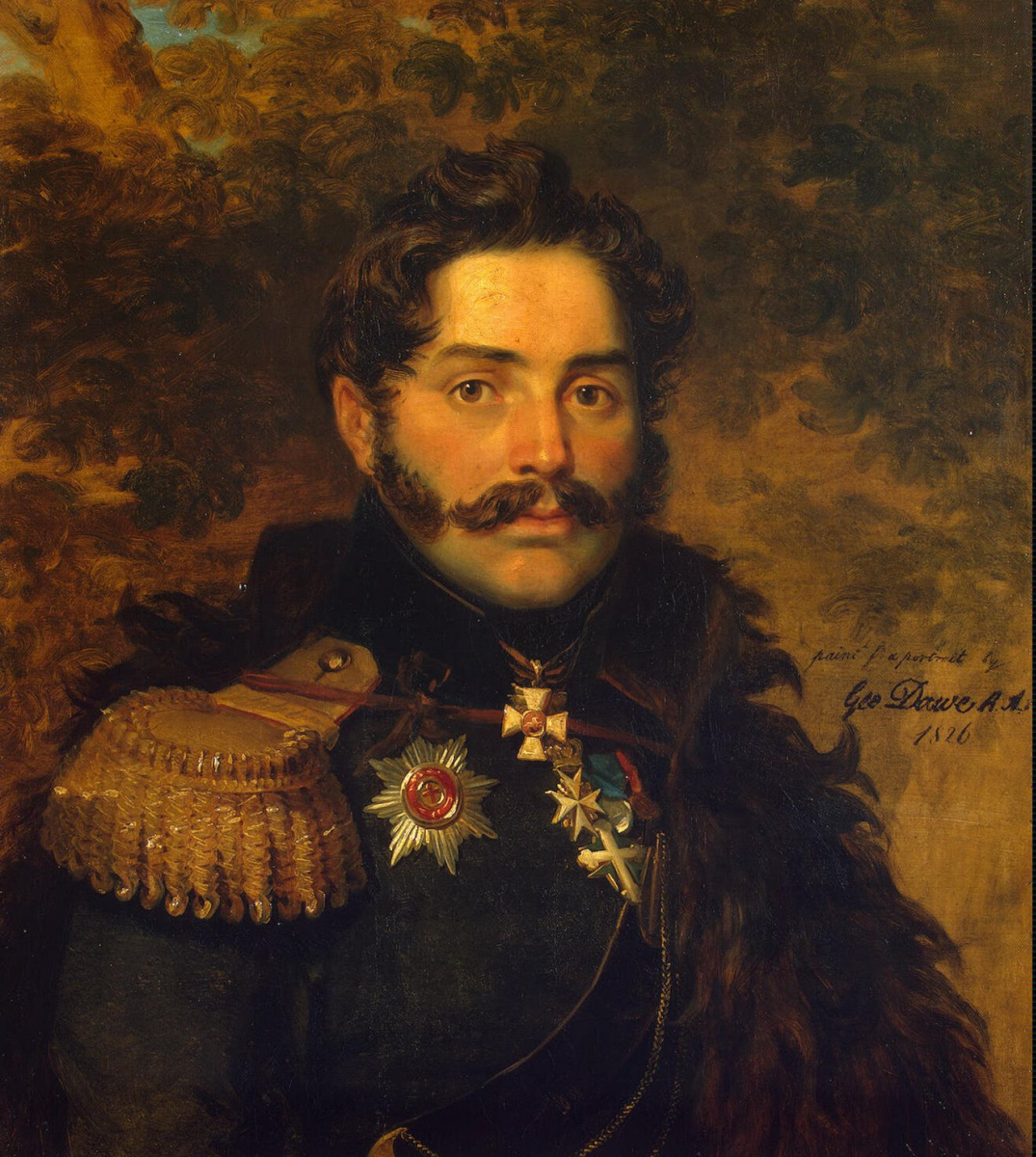 Джордж Доу. Портрет Александра Федоровича Щербатова