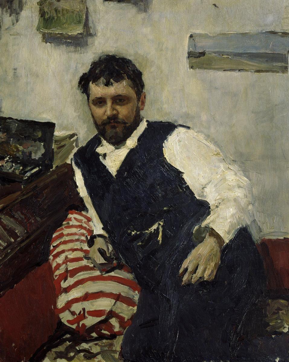 Valentin Serov. Portrait of the artist Konstantin Alekseevich Korarina