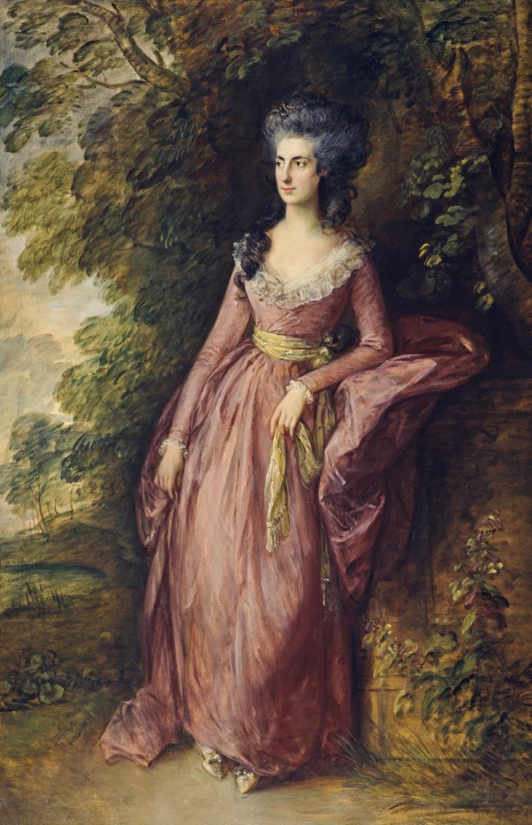 Thomas Gainsborough. Mrs. Hamilton Nisbet