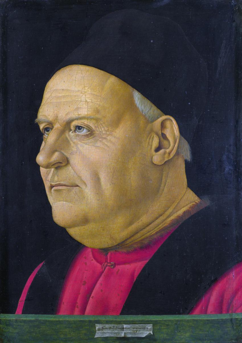 Бонсигнори Франческо. Портрет пожилого мужчины