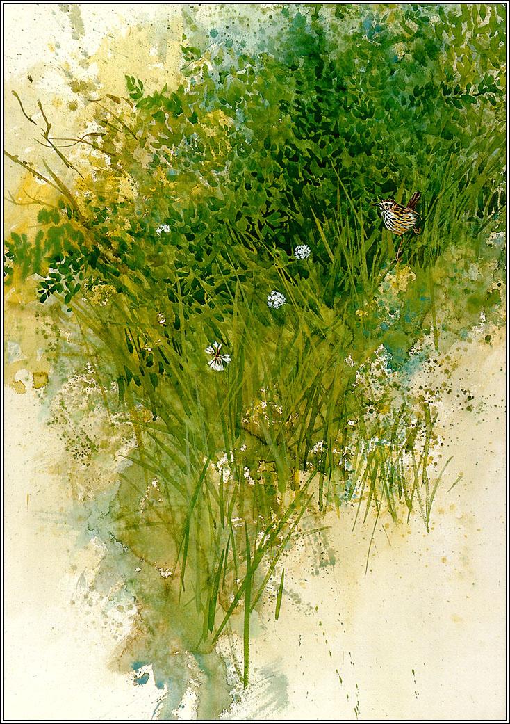 Пенни Олсен. В траве