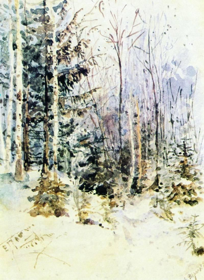 Elena Dmitrievna Polenova. Winter landscape