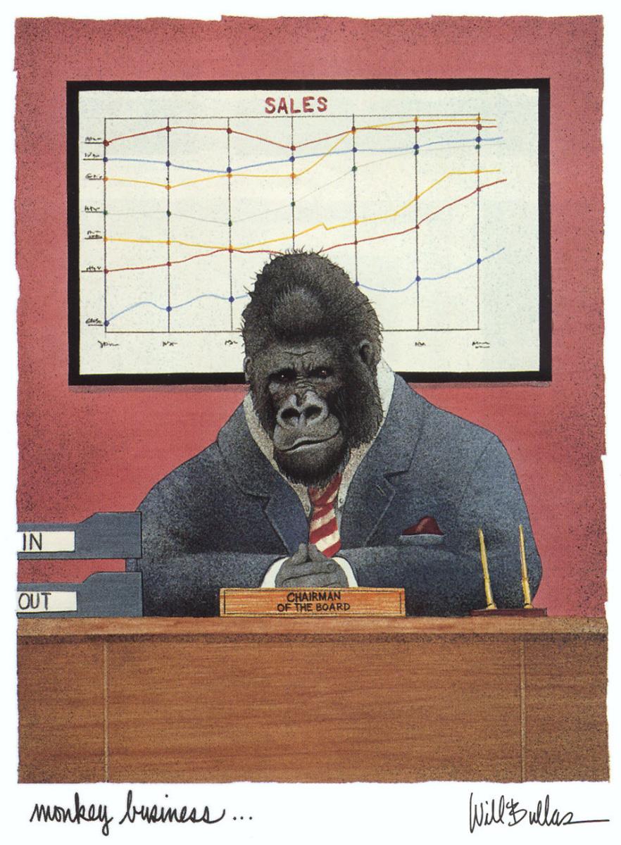 Уилл Буллас. Бизнес обезьян