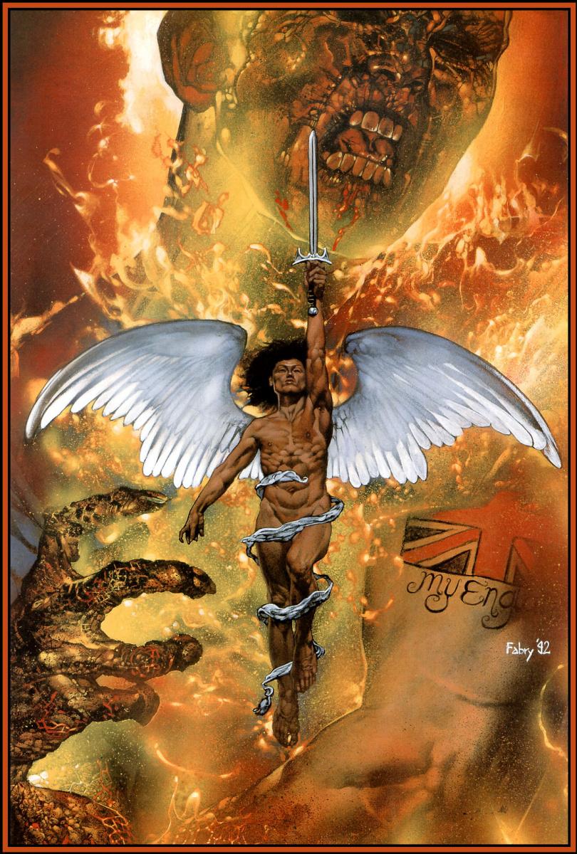 Гленн Фабри. Белые крылья защитника