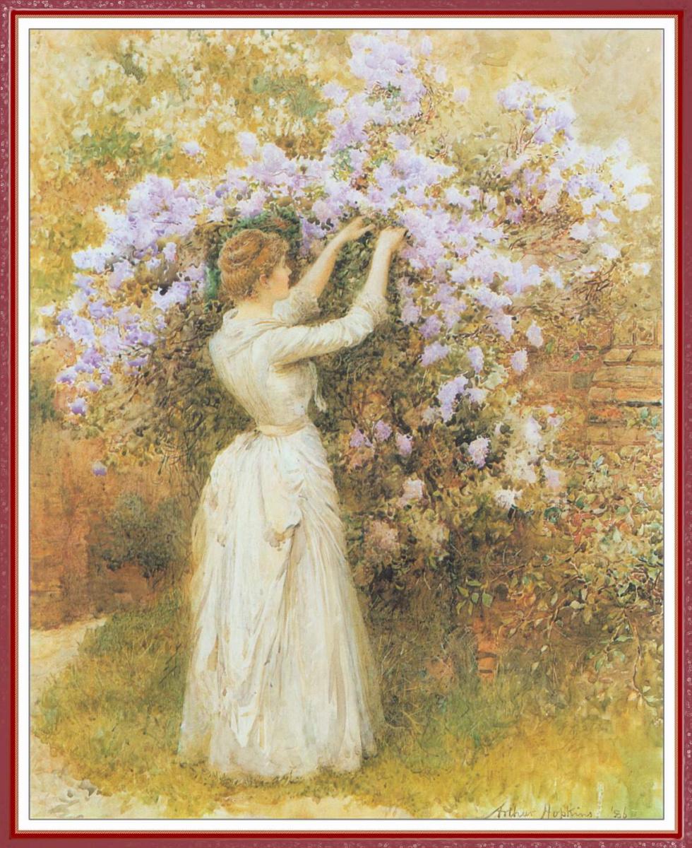 Артур Хопкинс. Сбор цветов