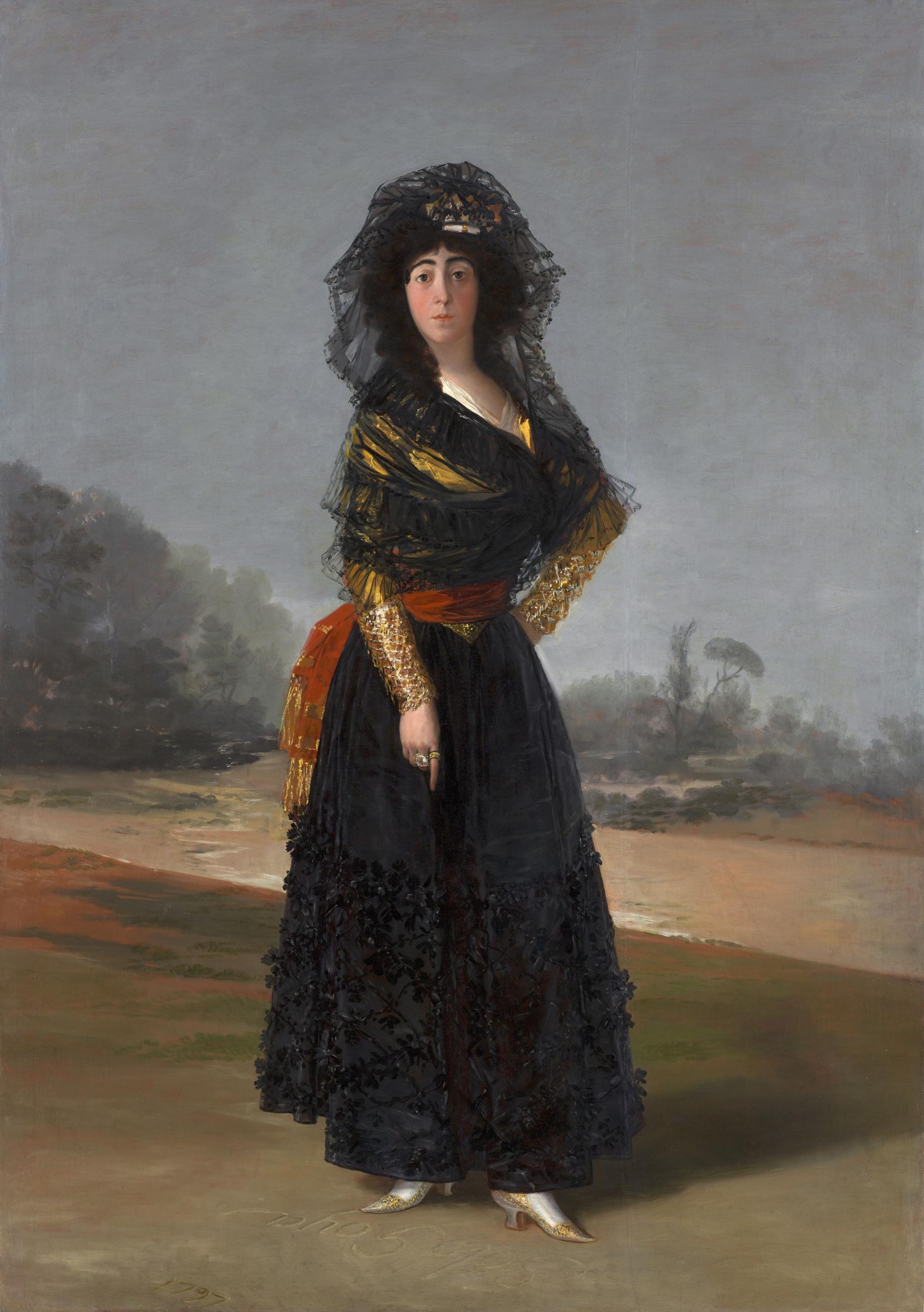Франсиско Гойя. Портрет герцогини Альба