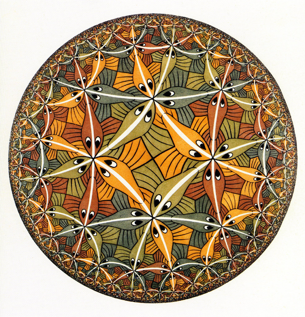 Maurits Cornelis Escher. Circle Limit III