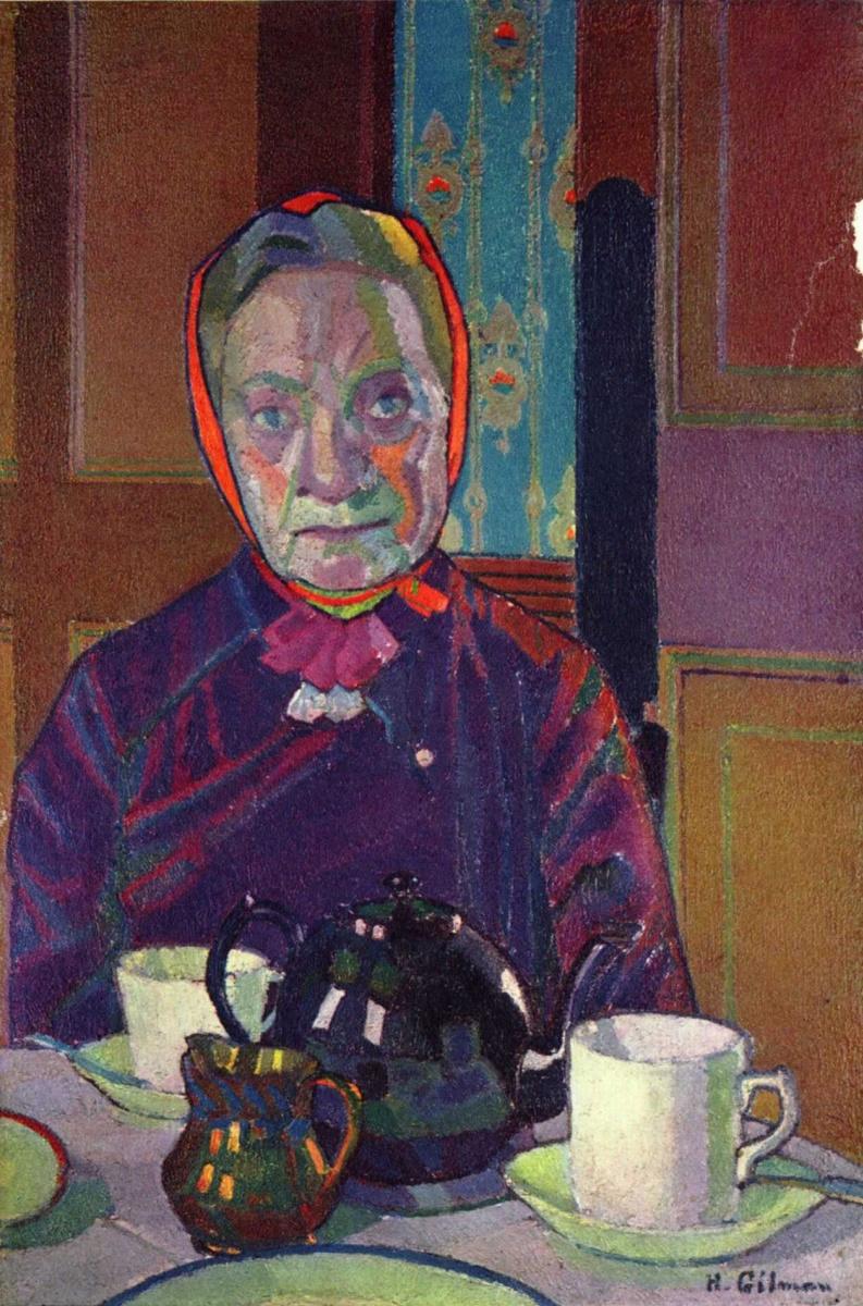 Харольд Гилмен. Портрет миссис Маунтер за завтраком