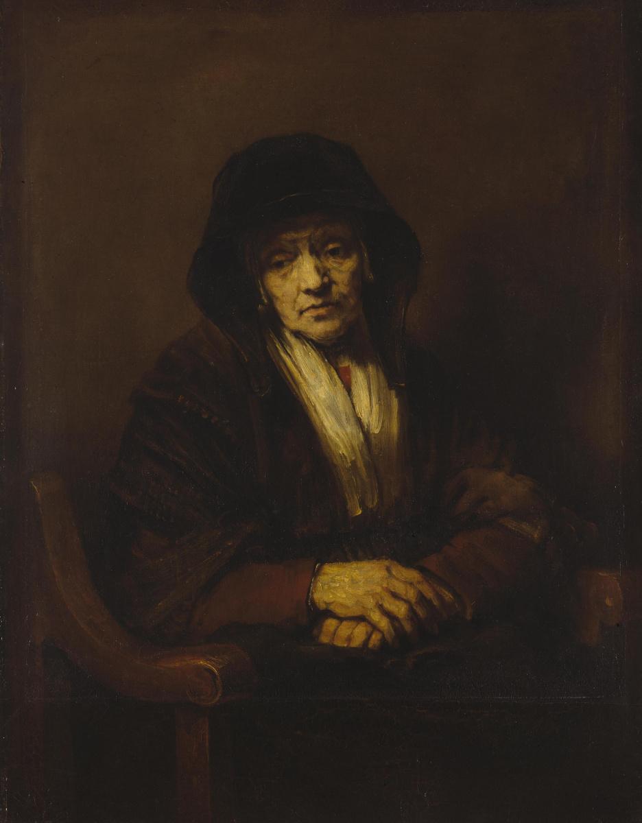 Рембрандт Харменс ван Рейн. Портрет старушки