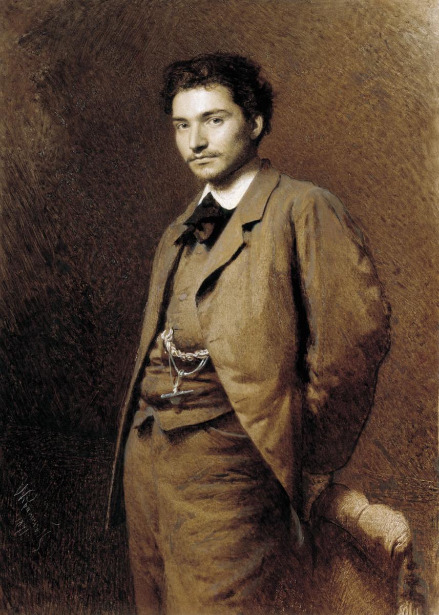 Иван Николаевич Крамской. Портрет художника Федора Васильева