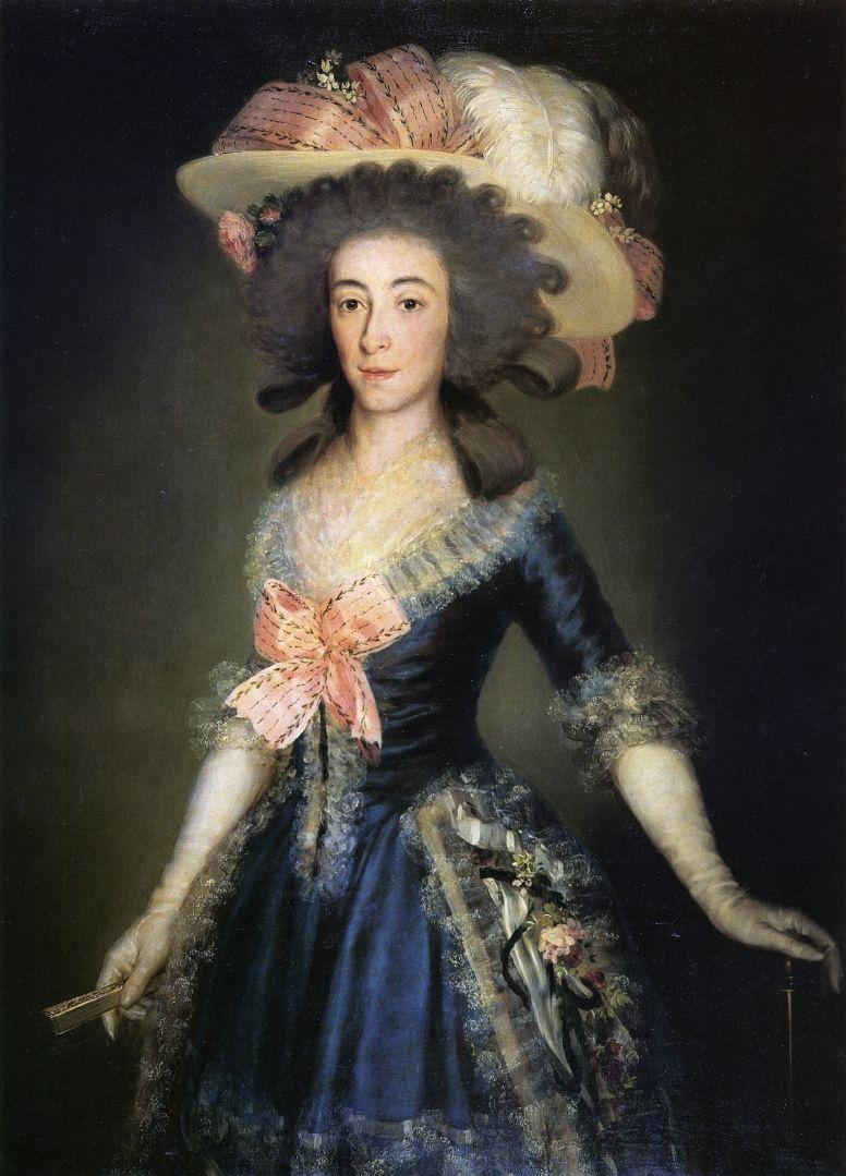 Франсиско Гойя. Портрет графини-герцогини Бенавенте
