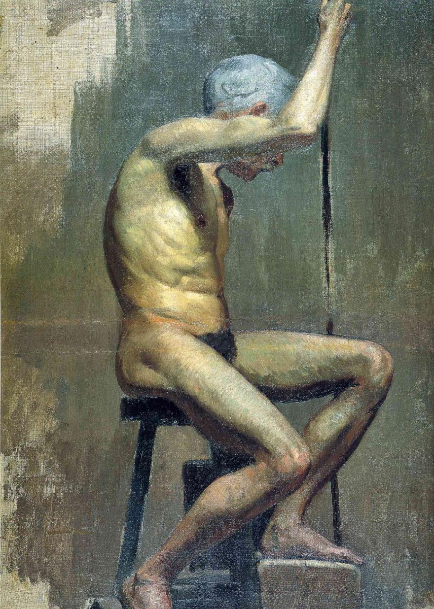 Пабло Пикассо. Седина