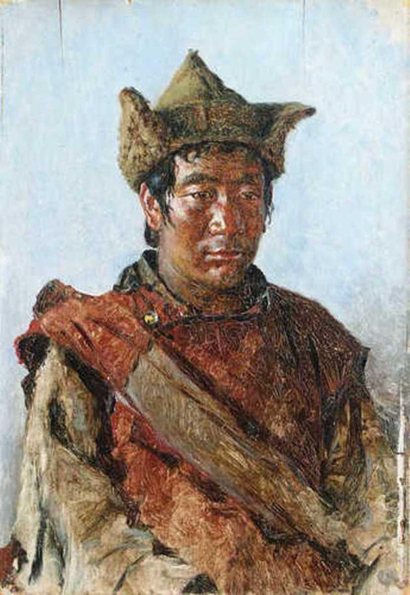 Василий Васильевич Верещагин. Тибетский лама