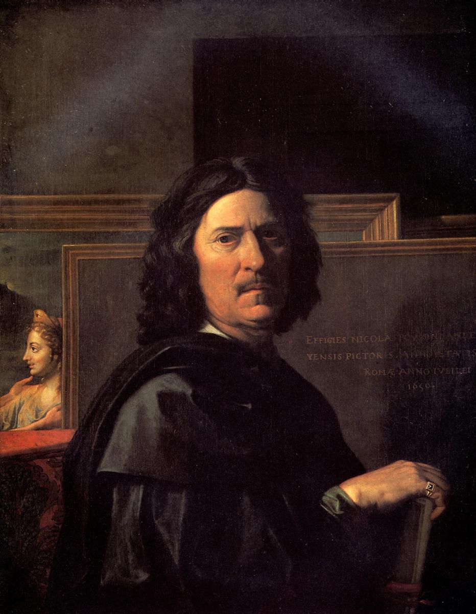 Nicola Poussin. Self-portrait
