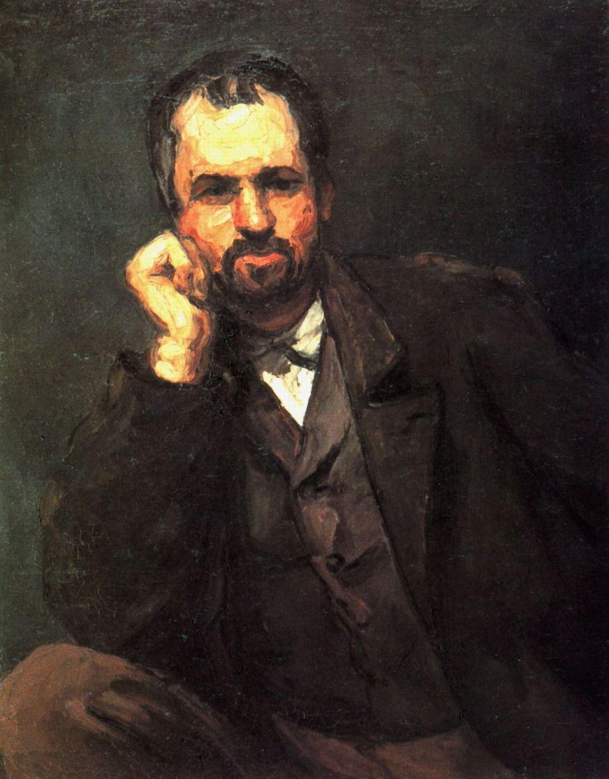 Поль Сезанн. Мужской портрет