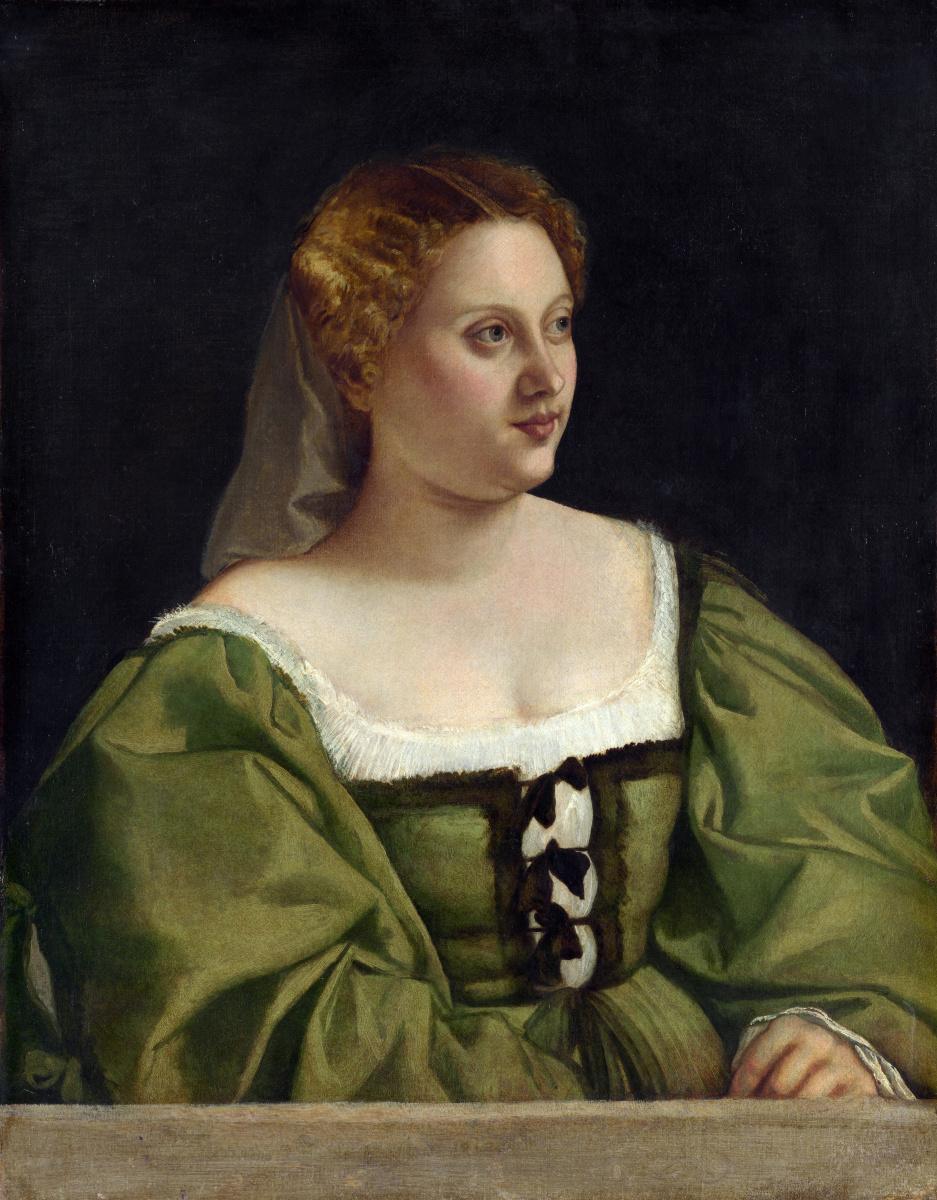 Венецианская Итальянский. Портрет леди