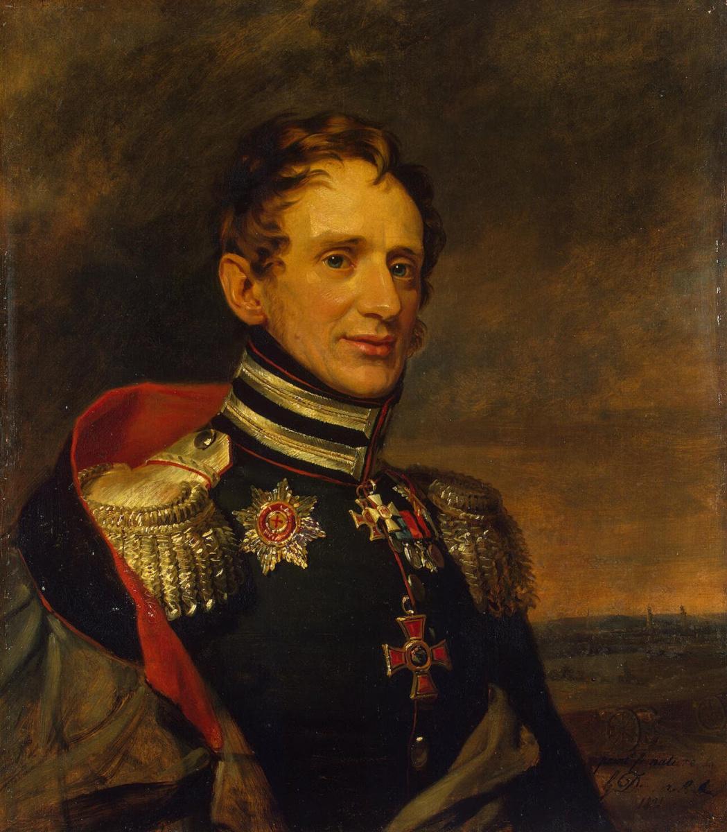 George Dow. Portrait of Egor Karlovich Sivers