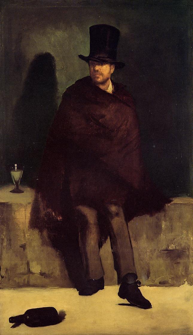 Edouard Manet. Absinth drinker
