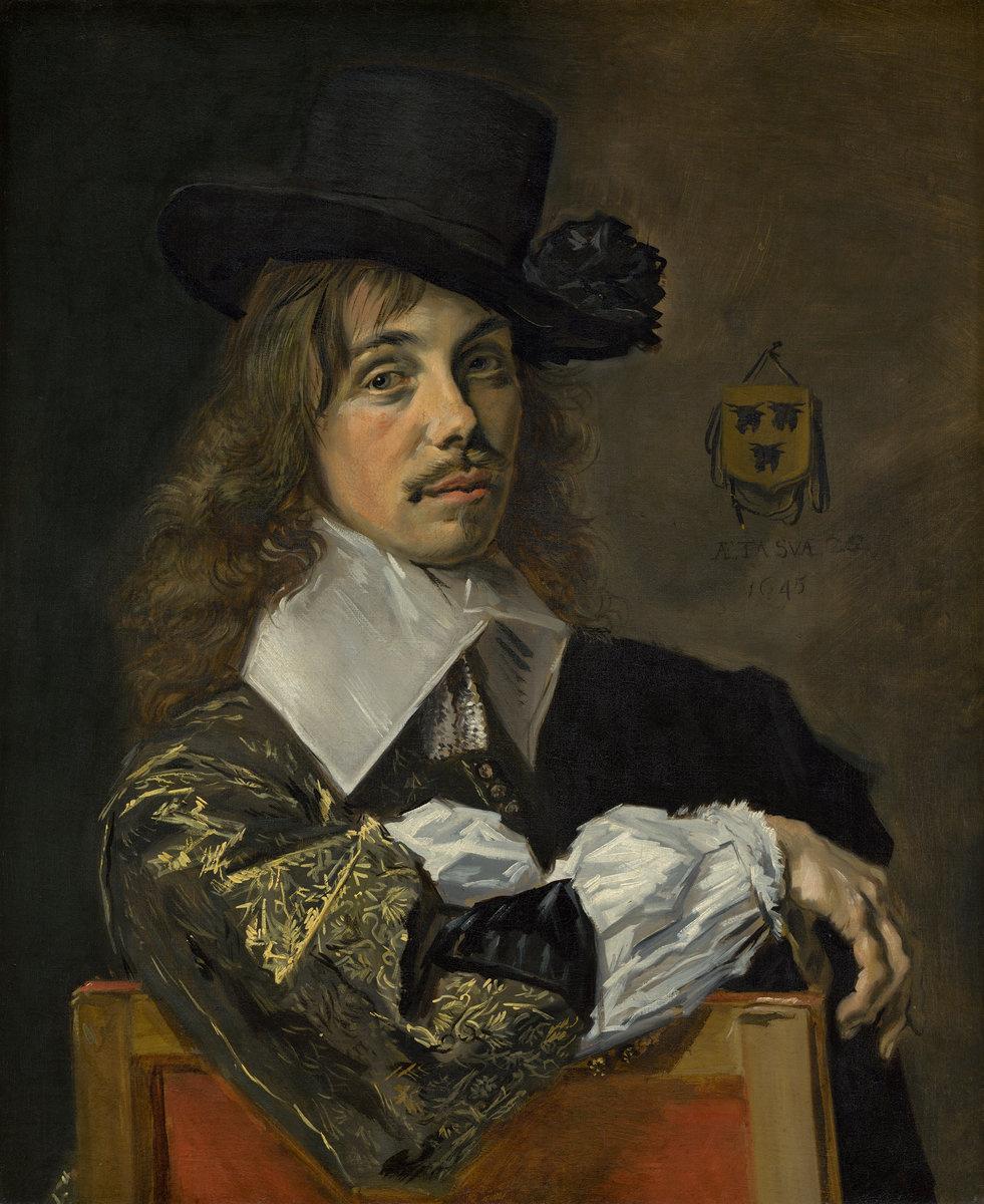 Frans Hals. Portrait Of Willem Kooijmans