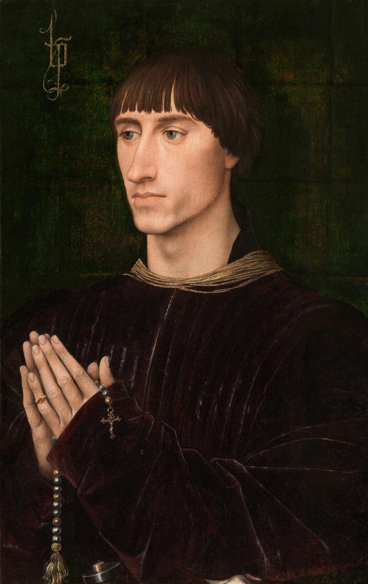 Рогир ван дер Вейден. Портрет Филиппа де Кроя