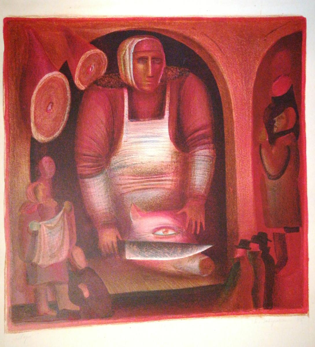 Boris Pavlovich Zabirohin. Torsh