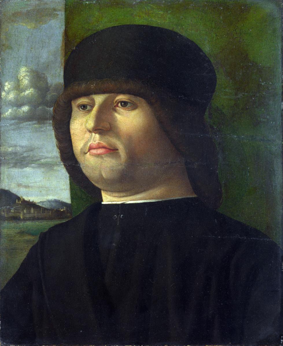 Венецианская Итальянский. Мужчина в черном