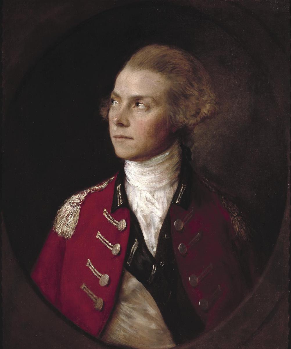 Томас Гейнсборо. Портрет офицера драгун