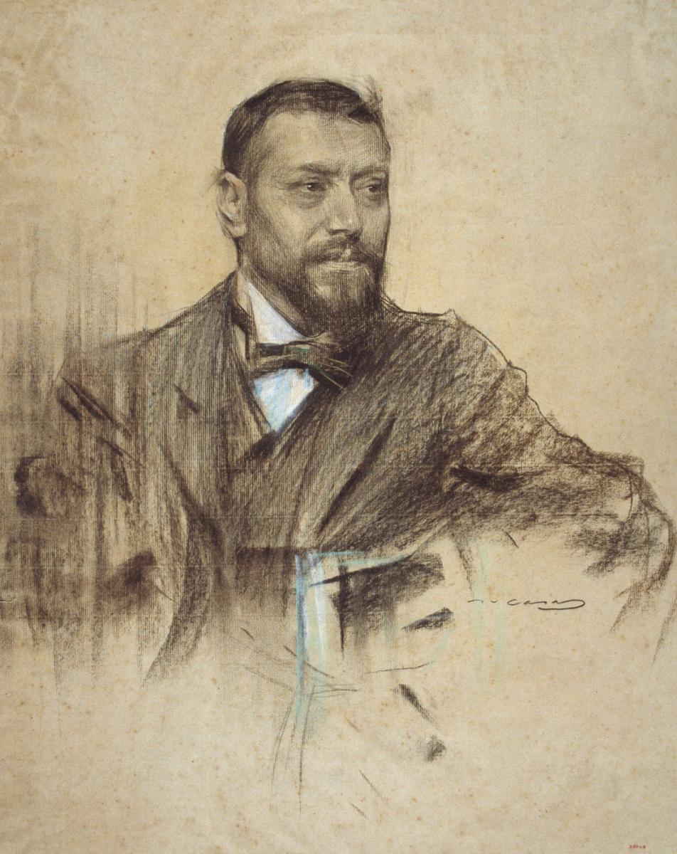 Рамон Касас Карбо. Портрет Хосе Франкоса Родригеса