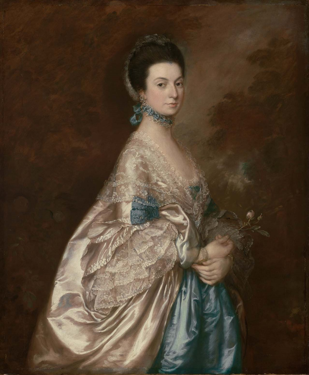 Thomas Gainsborough. Mrs. Edmund Morton Pleydell