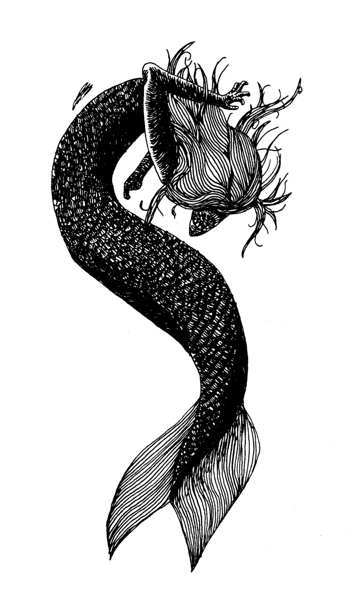 TheCatMAN. Dark Mermaid