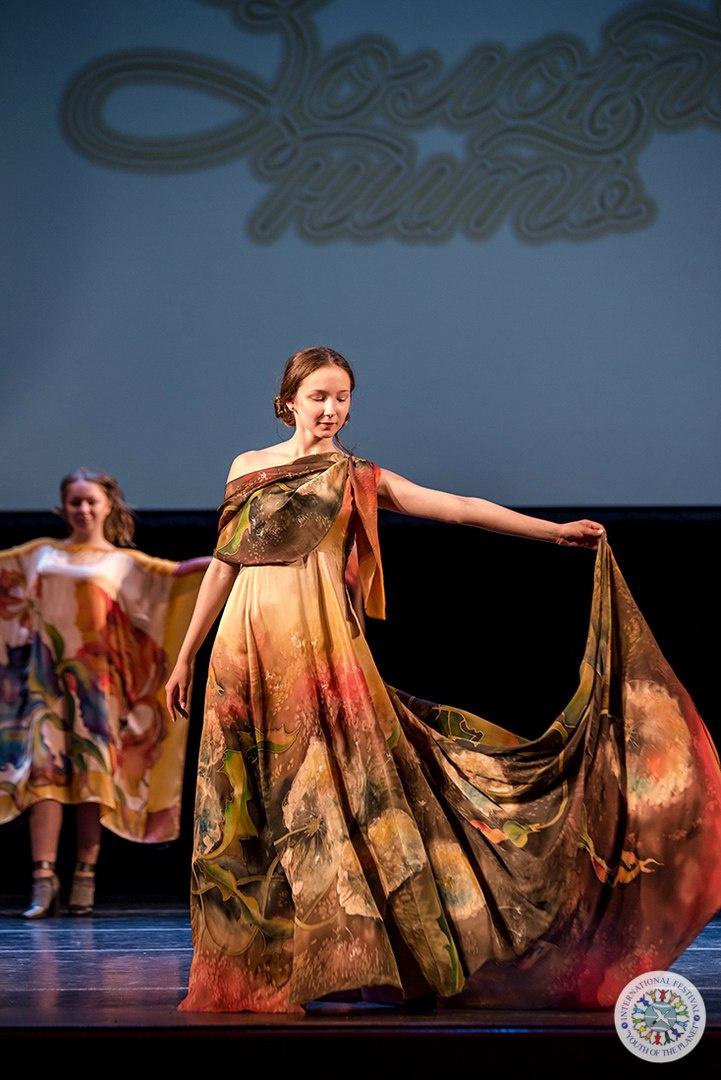 "Roman Andreevich Zakharov. Dress ""Blow"""