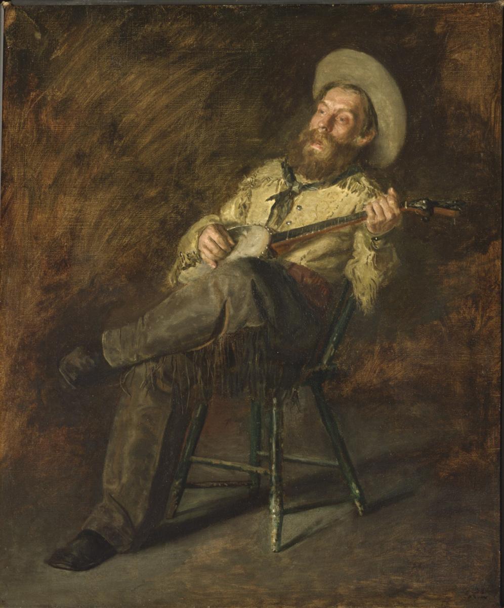 Thomas Eakins. Singing cowboy