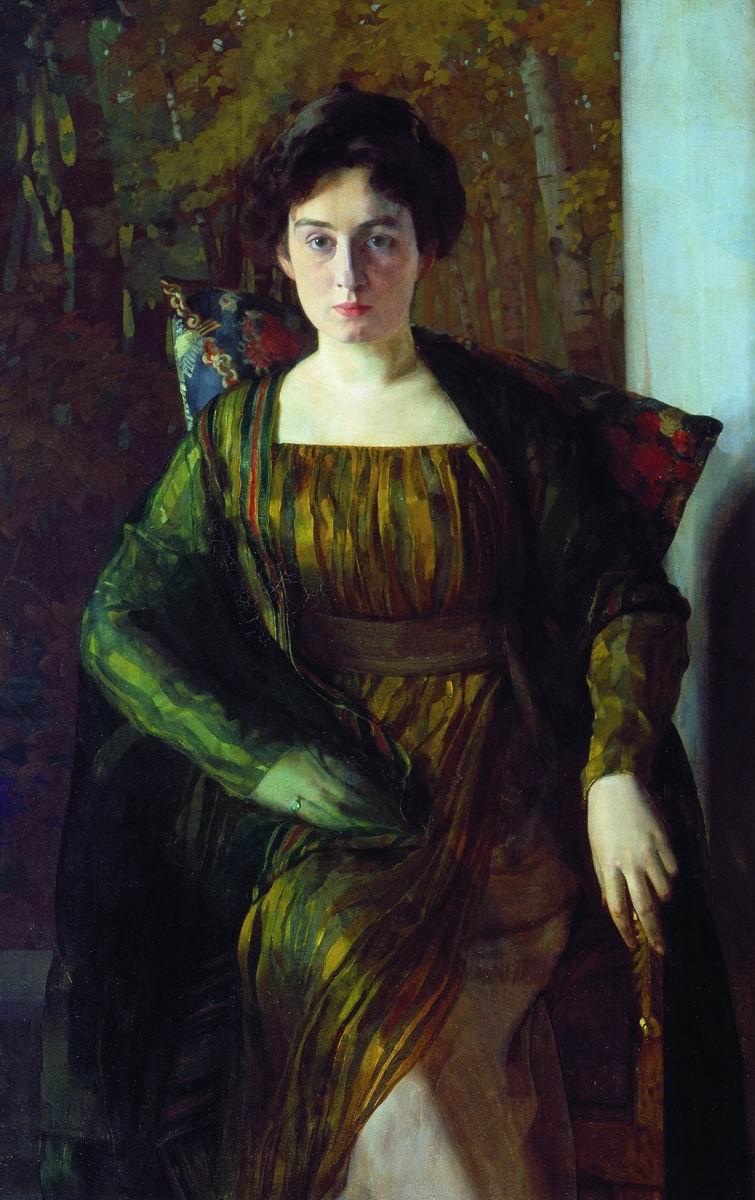 Constantin Somov. Portrait Of G. L. Hirschmann