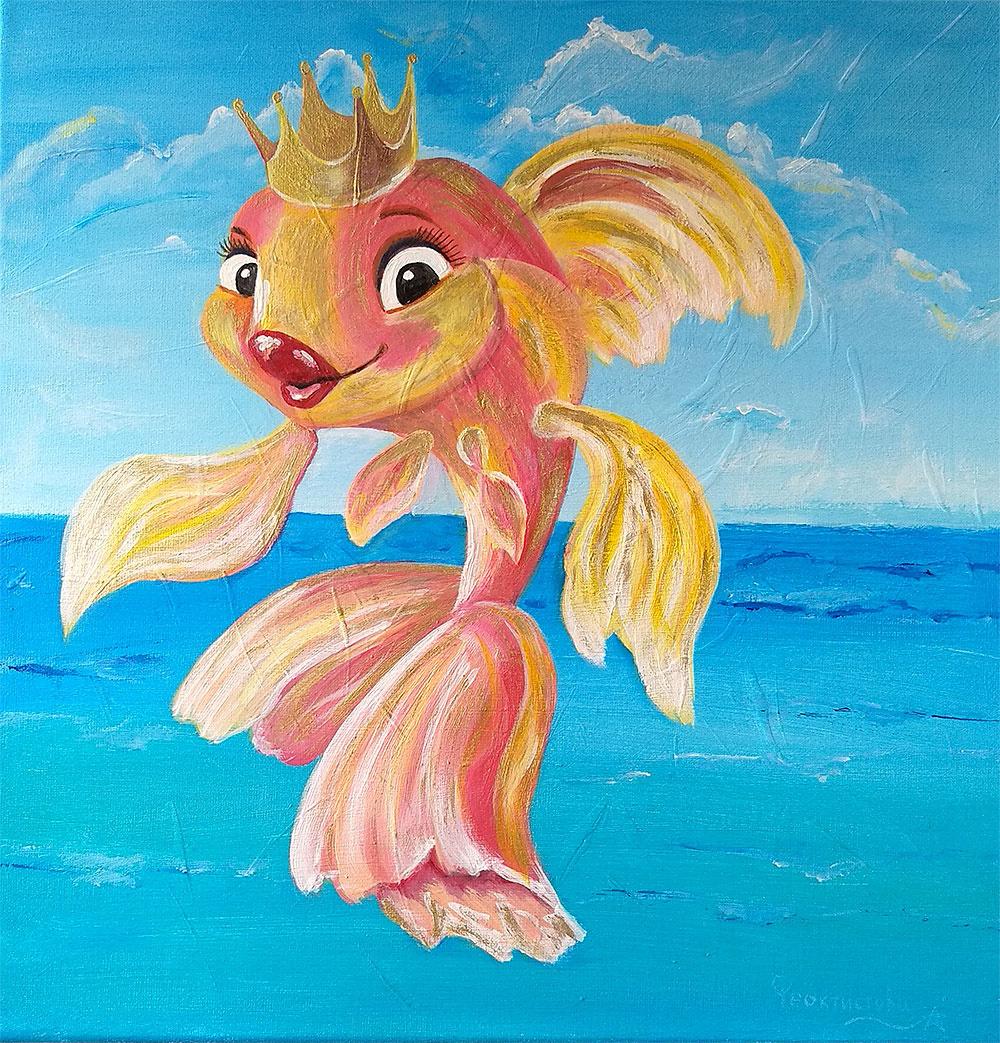 Tatyana Nikolaevna Feoktistova. Magic gold fish