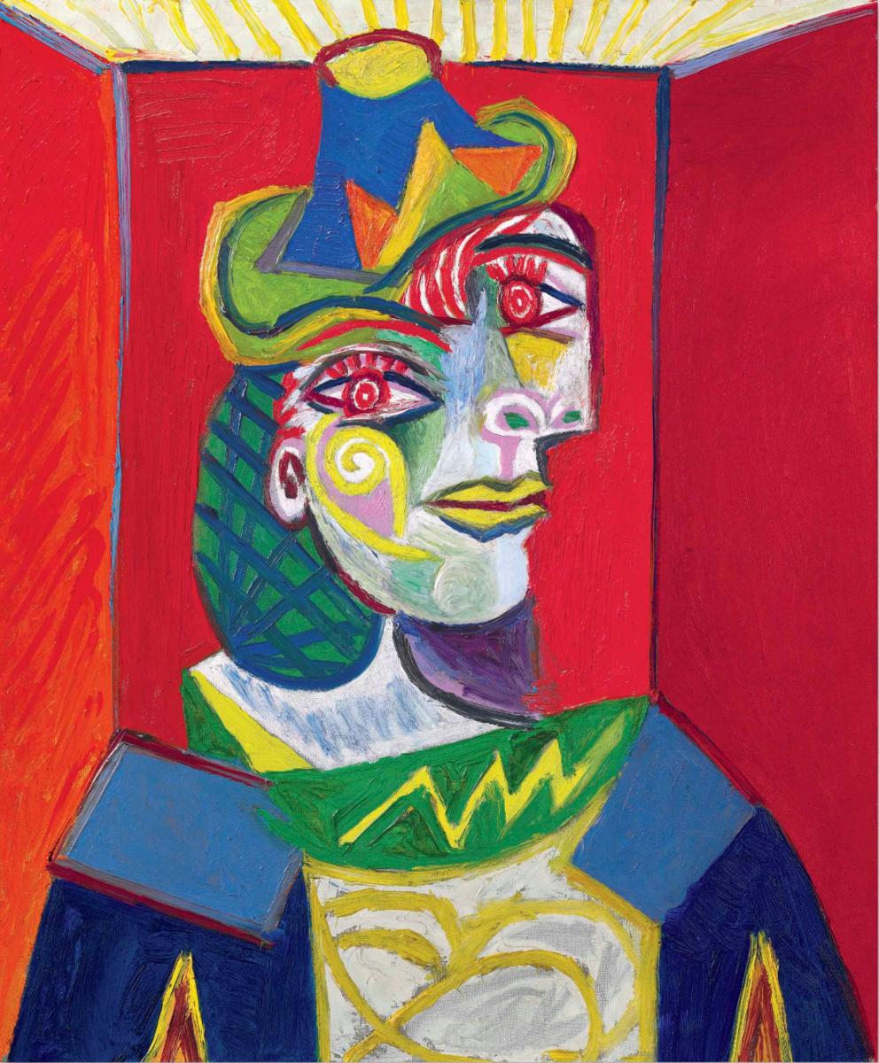 Buste de femme (Femme à la résille) by Pablo Picasso: History ...