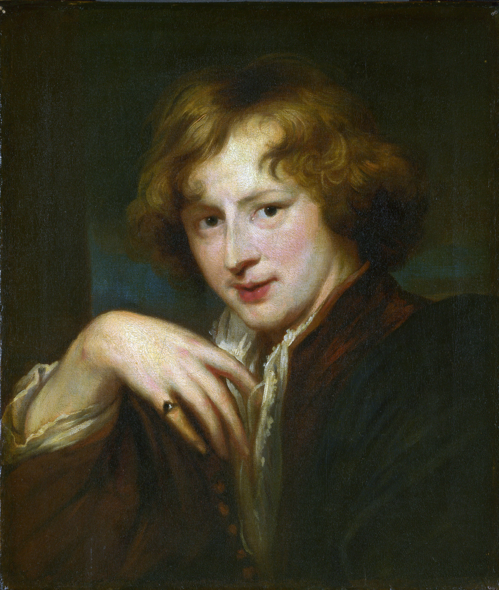 Anthony van Dyck. Portrait of the artist. Copy 1750 - 1825 years