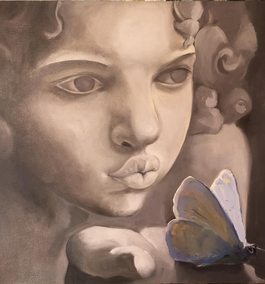 Svetlana Yunusova. Angel with butterfly