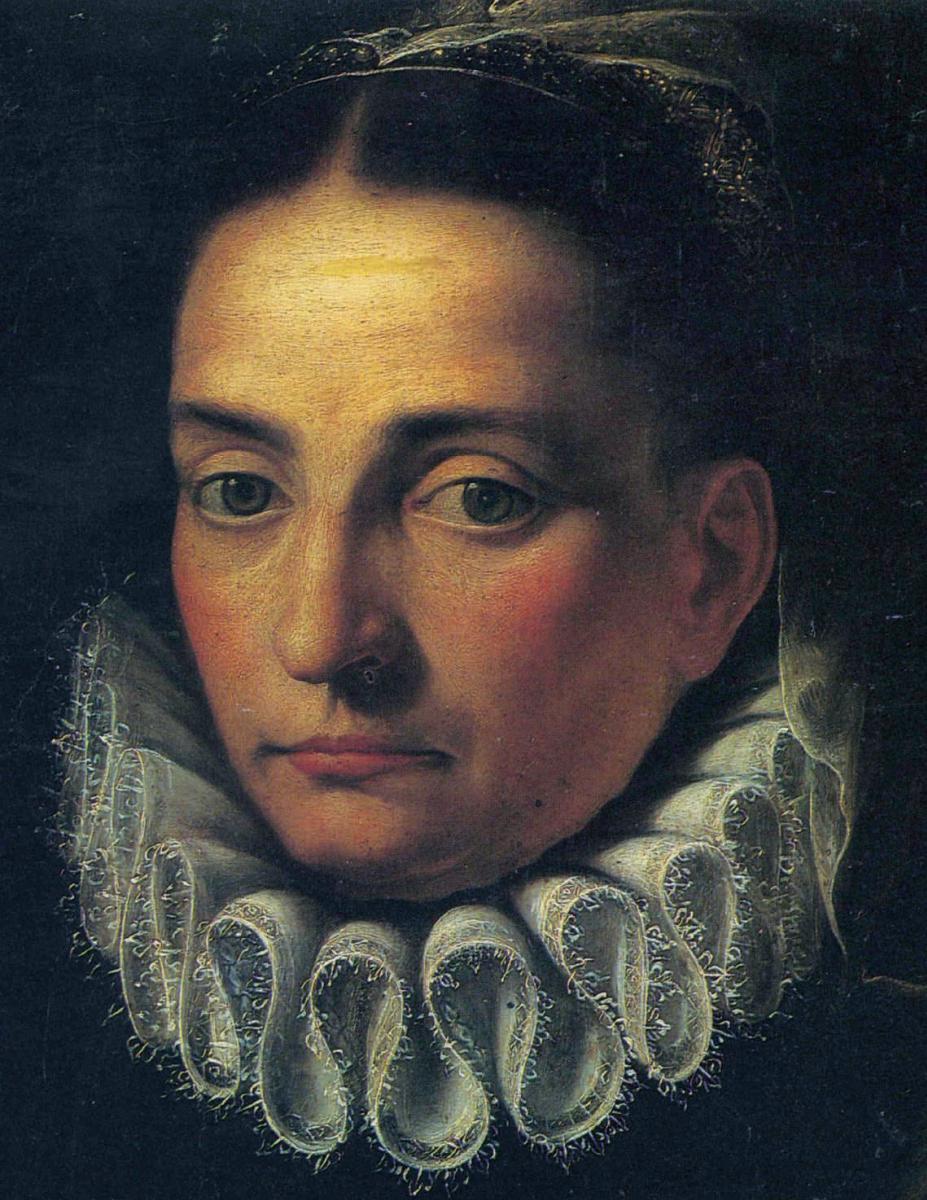 Софонисба Ангвиссола. Автопортрет