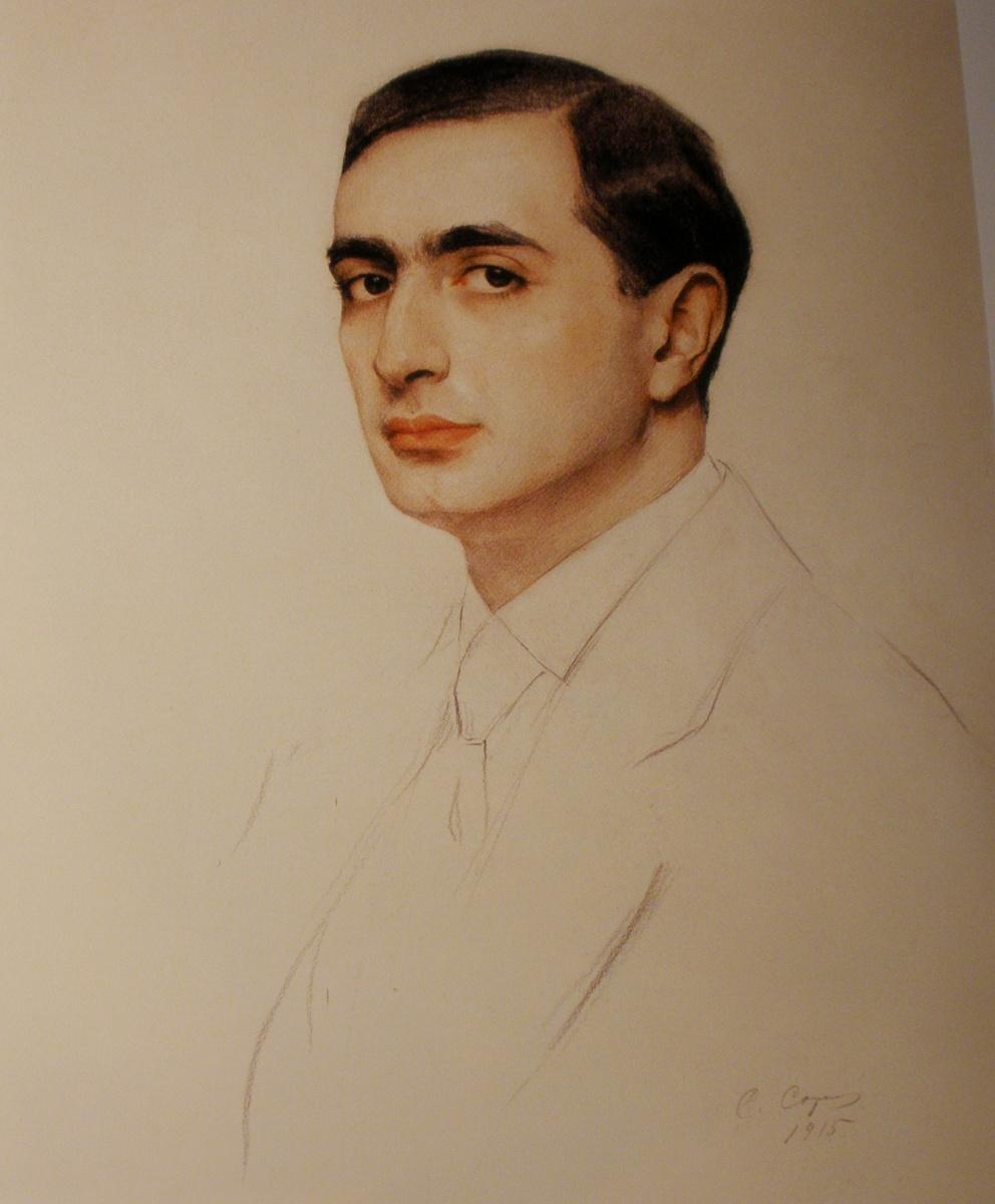 Савелий Абрамович Сорин. Портрет архитектора М. И. Рославлева 1915