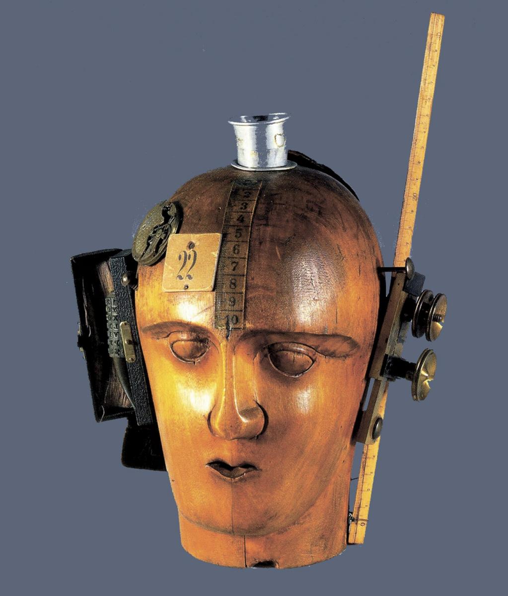 Raoul Hausmann, Testa meccanica (lo spirito del nostro tempo), assemblaggio,1920