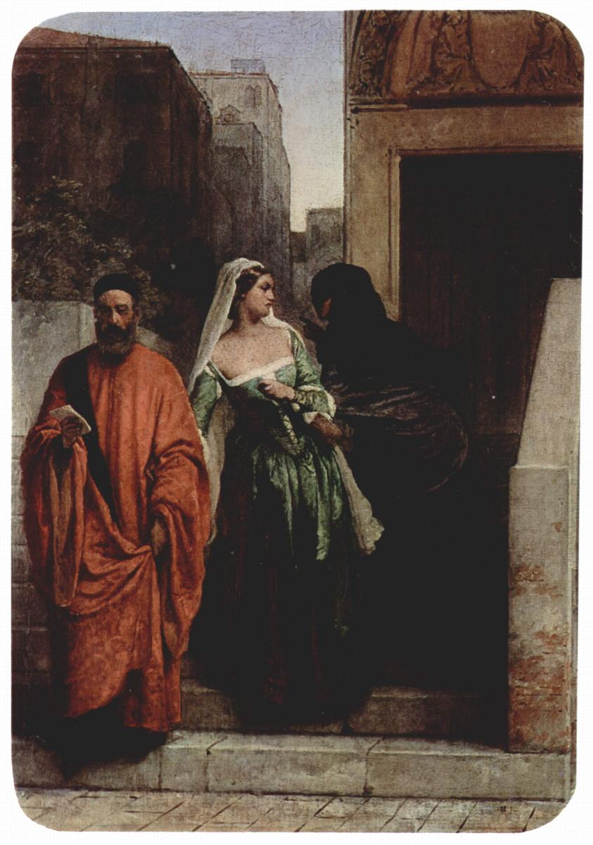 Франческо Айец. Венецианки