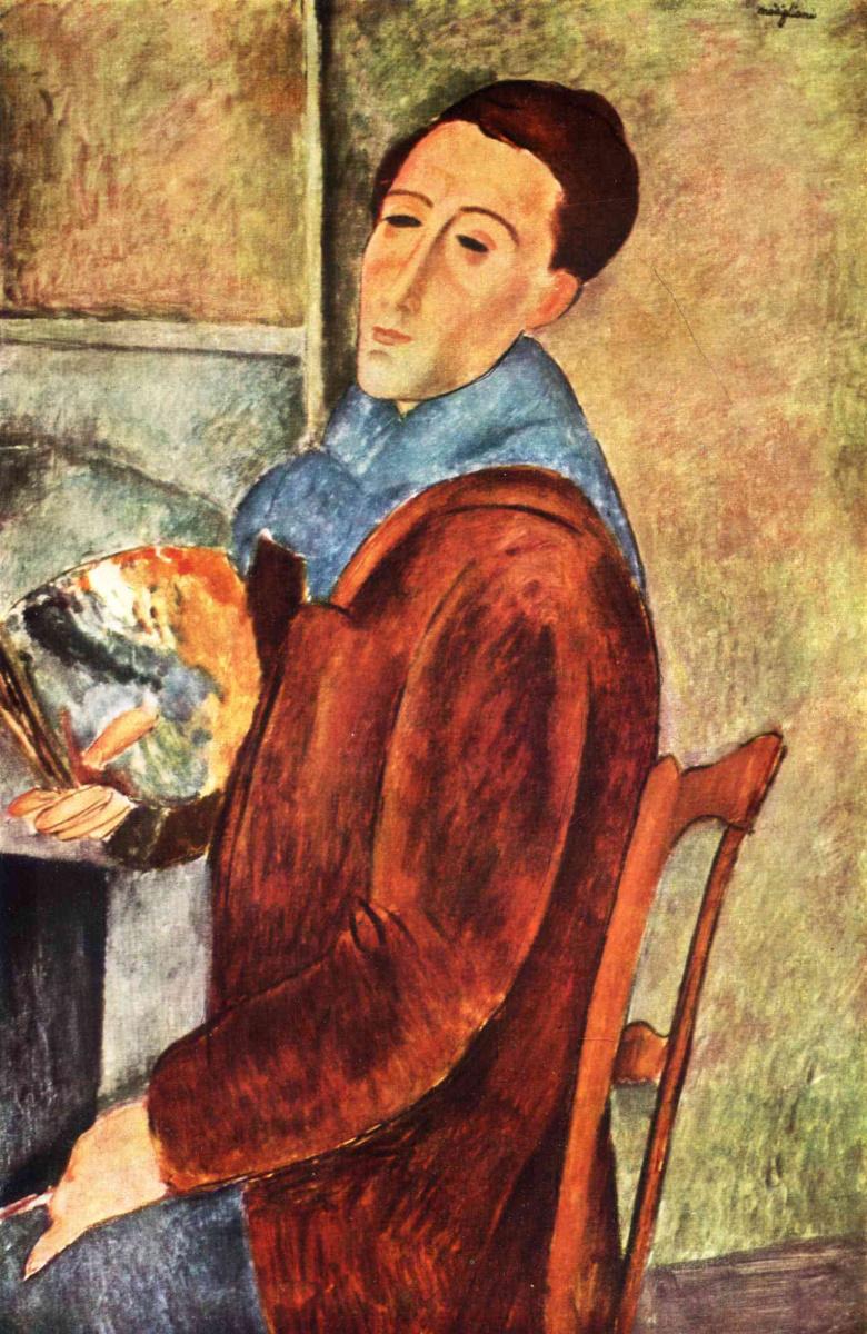 Амедео Модильяни. Автопортрет