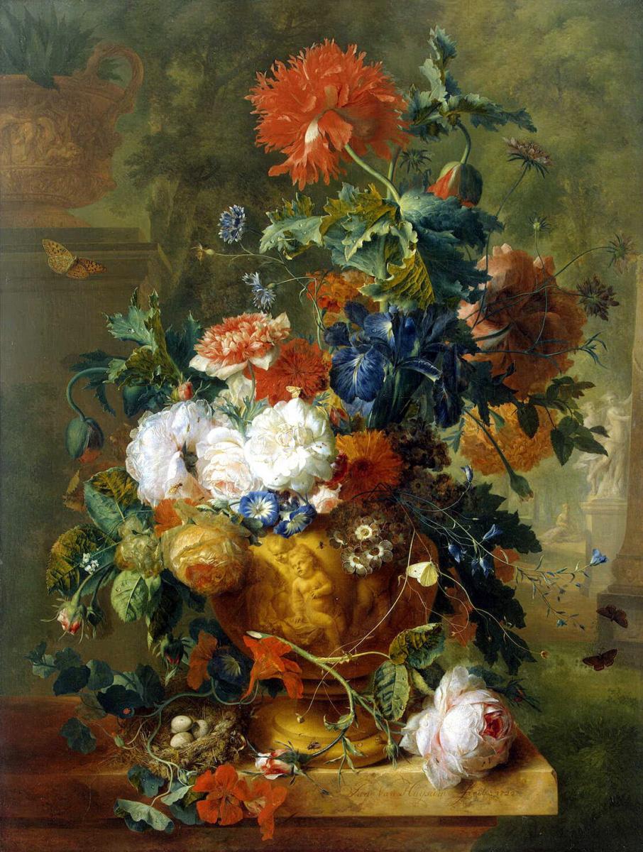 Ян ван Хейсум. Цветы