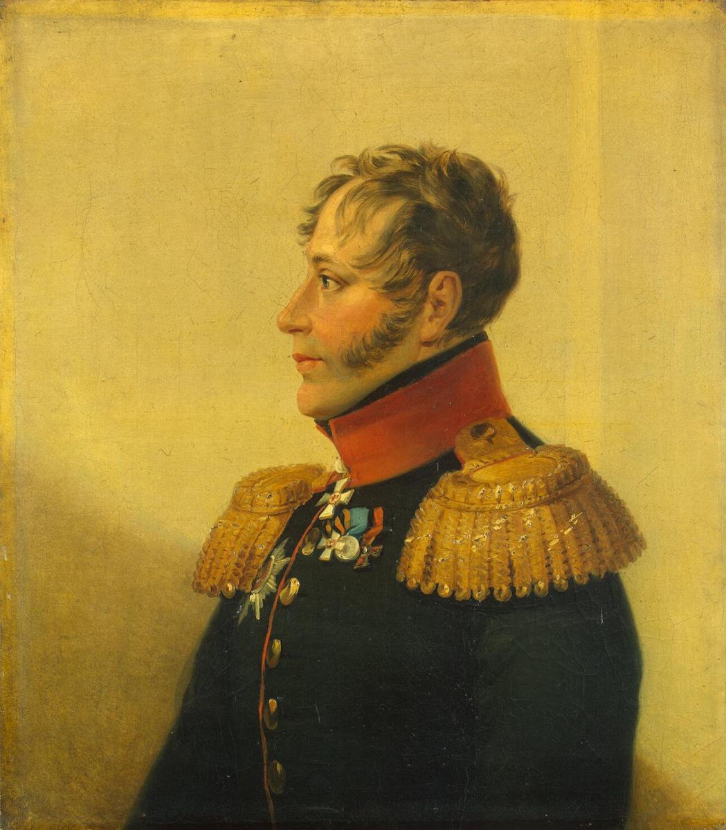 Джордж Доу. Портрет Егора Андреевича Ахте