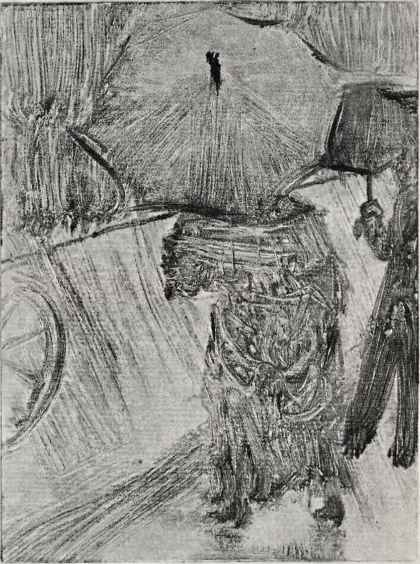 Эдгар Дега. Дождь
